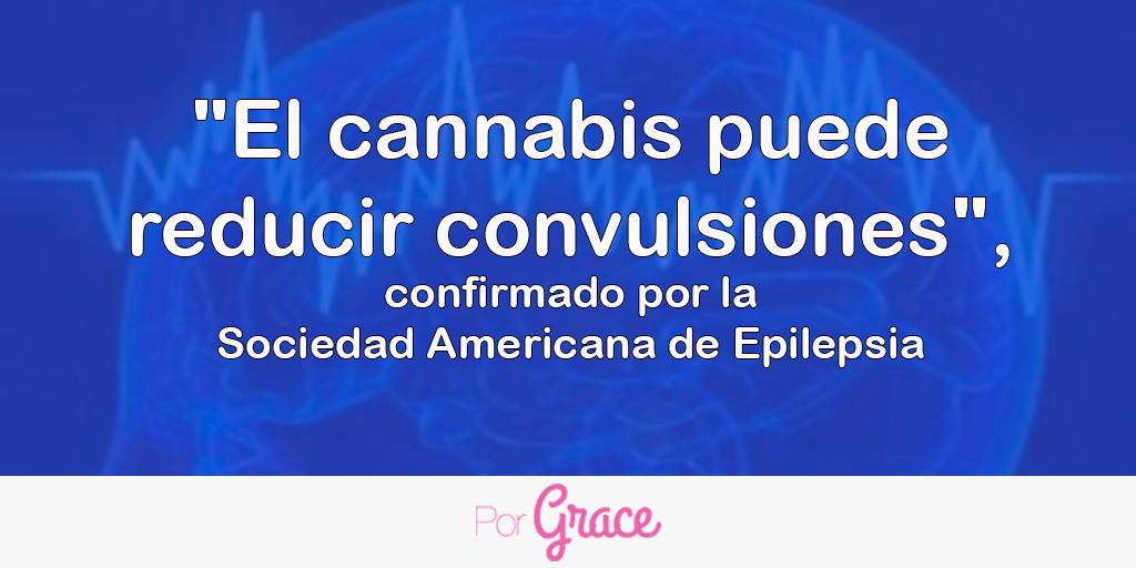 """""""El cannabis puede reducir convulsiones"""", confirmado por la Sociedad Americana de Epilepsia"""
