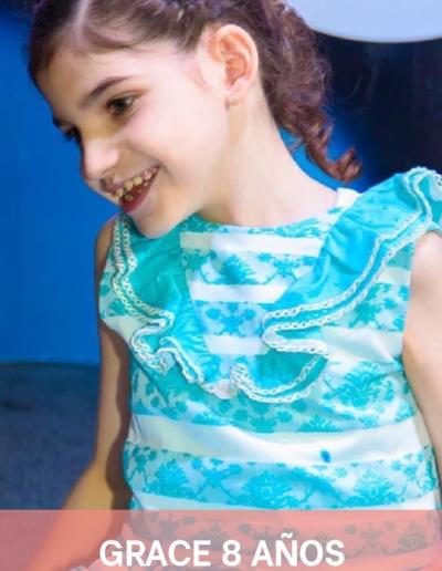 Grace 8 años